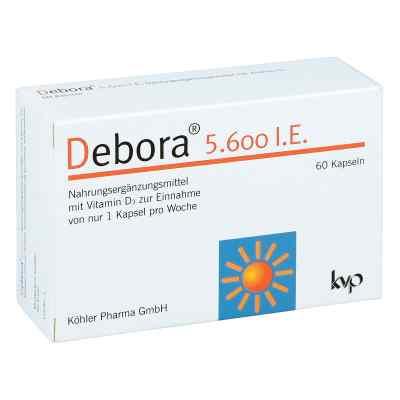 Debora 5.600 I.e. kapsułki  zamów na apo-discounter.pl