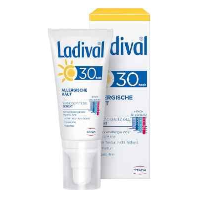 Ladival allergische Haut Gel Lsf 30  zamów na apo-discounter.pl