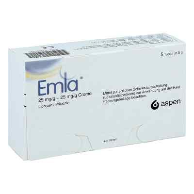 Emla 25 mg/g + 25 mg/g Creme + 12 Tegaderm  zamów na apo-discounter.pl