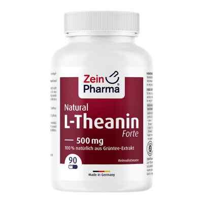 L-theanin Natural Forte 500 mg Zeinpharma kapsułki  zamów na apo-discounter.pl