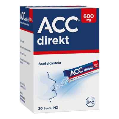 Acc direkt 600 mg Pulver zum Einnehmen im Beutel  zamów na apo-discounter.pl
