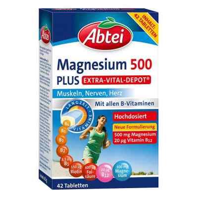 Abtei Magnesium 500 Plus tabletki  zamów na apo-discounter.pl