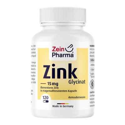 Zink Chelat 15 mg in magensaftresist.veg.Kaps.  zamów na apo-discounter.pl