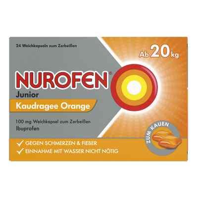 Nurofen Junior Drażetki o smaku pomarańczy 100 mg  zamów na apo-discounter.pl