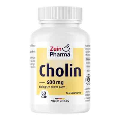 Cholina 600 mg Kapsułki  zamów na apo-discounter.pl