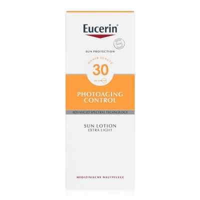Eucerin Sun Lotion Photoaging Control SPF30 balsam przeciw słońc  zamów na apo-discounter.pl