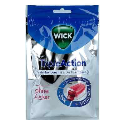 Wick Tripleaction Menthol & Cassis ohne Zucker  Bon.  zamów na apo-discounter.pl