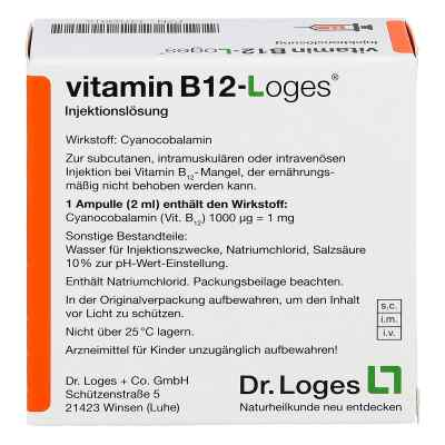 Vitamin B12-loges Injektionslösung Ampullen  zamów na apo-discounter.pl