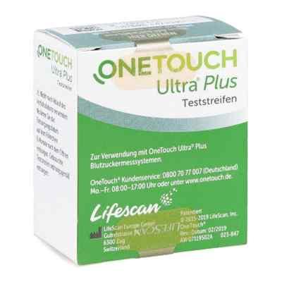 One Touch Ultra Plus Teststreifen  zamów na apo-discounter.pl