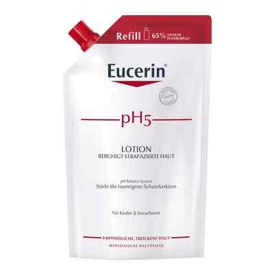 Eucerin pH5 Lotion Nachfüll empfindliche Haut  zamów na apo-discounter.pl