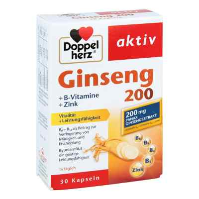 Doppelherz Ginseng 200+b-vitamine+zink Kapseln  zamów na apo-discounter.pl