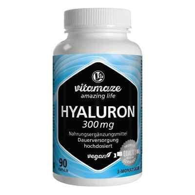 Hyaluronsäure 300 mg vegan Vitamaze Kapseln  zamów na apo-discounter.pl