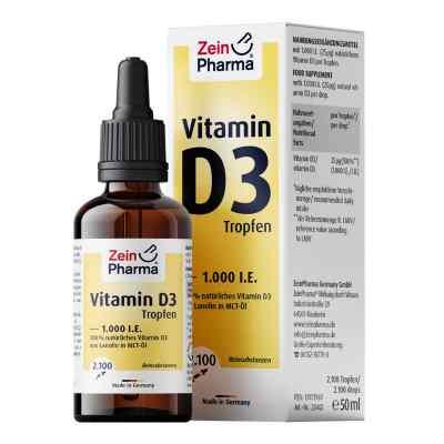 Vitamin D3 Tropfen 1.000 I.e. 2100 Trop.zeinpharma  zamów na apo-discounter.pl