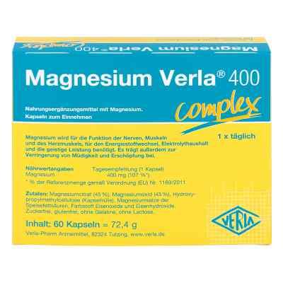 Magnesium Verla complex 400 kapsułki  zamów na apo-discounter.pl