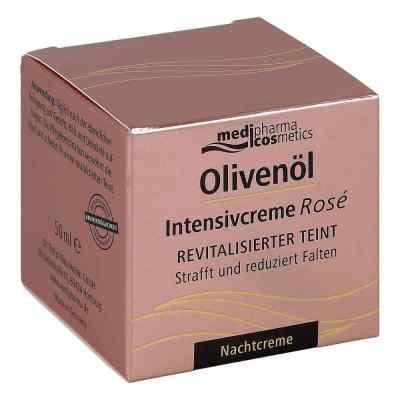 Olivenöl Intensivcreme Rose Nachtcreme  zamów na apo-discounter.pl