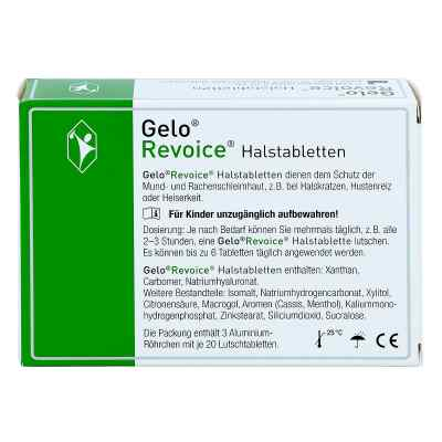 Gelorevoice Halstabletten Cassis-menthol Lut.-tab.  zamów na apo-discounter.pl