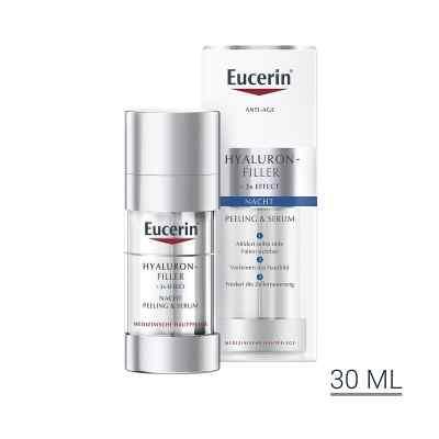 Eucerin Anti-age Hyaluron-Filler peeling + serum na noc  zamów na apo-discounter.pl