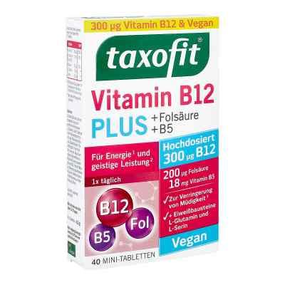 Taxofit Vitamin B12 Plus Tabletten 40 szt. od MCM KLOSTERFRAU Vertr. GmbH PZN 14258044