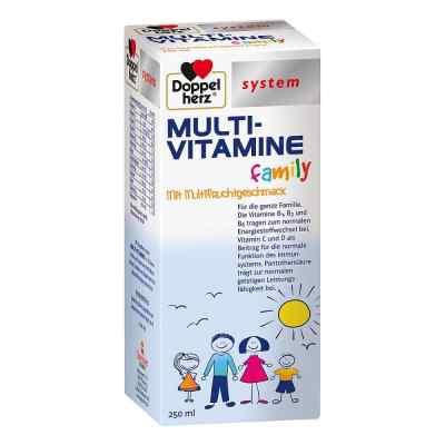 Doppelherz Multi-vitamine family system flüssig  zamów na apo-discounter.pl