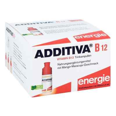 Additiva witamina B12, ampułki do picia  zamów na apo-discounter.pl