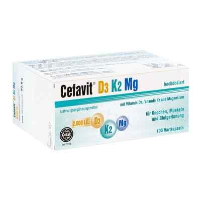 Cefavit D3 K2 Mg kapsułki twarde  zamów na apo-discounter.pl