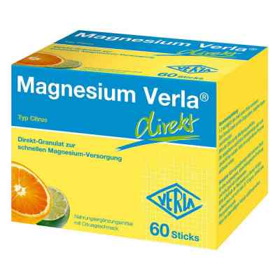 Magnesium Verla direkt Granulat Citrus  zamów na apo-discounter.pl