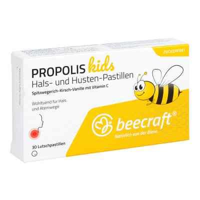 Beecraft Propolis Hals- und Husten-pastillen kids  zamów na apo-discounter.pl