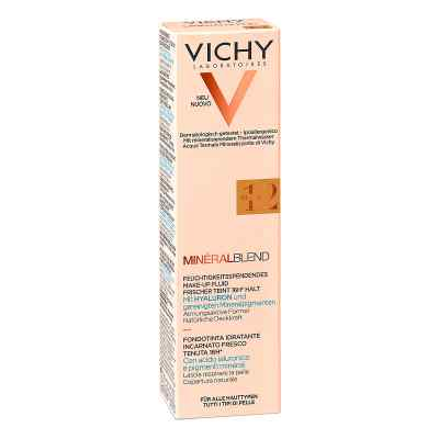 Vichy Mineralblend Make-Up podkład nawilżający Nr12 Sienna  zamów na apo-discounter.pl