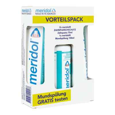Meridol Zahnpasta Vorteilspack+100 ml Spülung  zamów na apo-discounter.pl