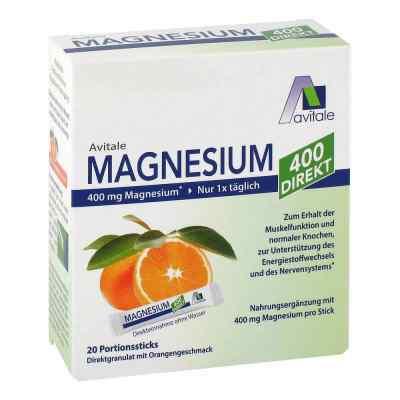 Magnesium 400 Direkt saszetki o smaku pomarańczowym  zamów na apo-discounter.pl