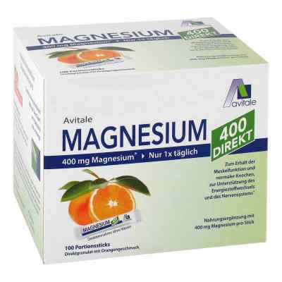 Magnesium 400 direkt Orange Portionssticks  zamów na apo-discounter.pl