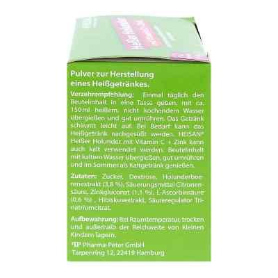 Heisan heisser Holunder+vitamin C+zink Pulver  zamów na apo-discounter.pl