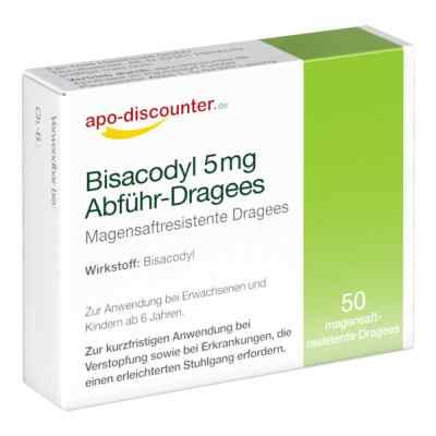 Bisacodyl 5 mg Dragees/apodiscounter  zamów na apo-discounter.pl