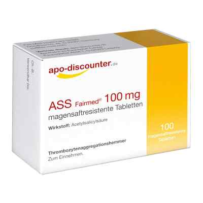 ASS Fairmed 100 mg tabletki  zamów na apo-discounter.pl
