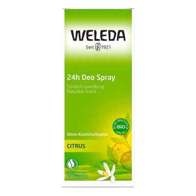Weleda Citrus 24h Deo Spray  zamów na apo-discounter.pl