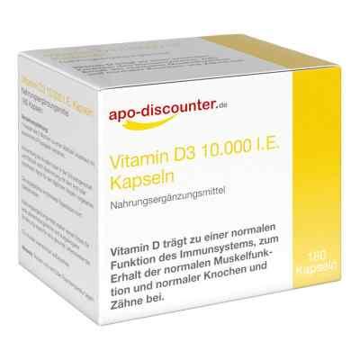 Vitamin D3 10.000 I.e. 250 [my]g kapsułki  zamów na apo-discounter.pl