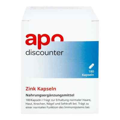 Zink 15 mg kapsułki  zamów na apo-discounter.pl