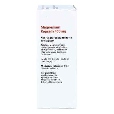 Magnez kapsułki 400 mg  zamów na apo-discounter.pl
