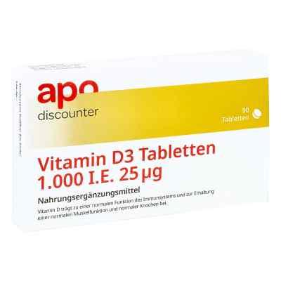 Witamina D3 tabletki 1.000 I.e. 25 µg   zamów na apo-discounter.pl