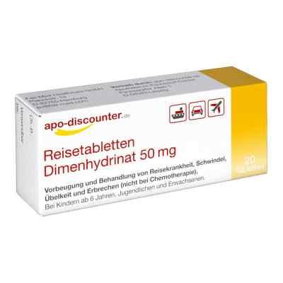 Dimenhydrynat 50 mg tabletki  zamów na apo-discounter.pl