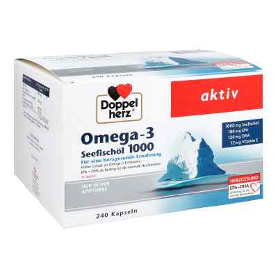 Doppelherz Omega-3 Seefischöl 1000 Kapseln  zamów na apo-discounter.pl