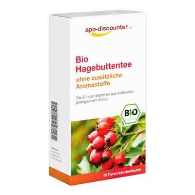 Bio Herbata z dziką różą, saszetki  zamów na apo-discounter.pl