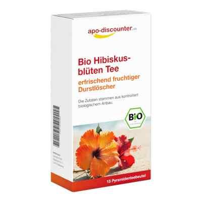 Bio Herbata z kwiatów hibiskusa, saszetki  zamów na apo-discounter.pl