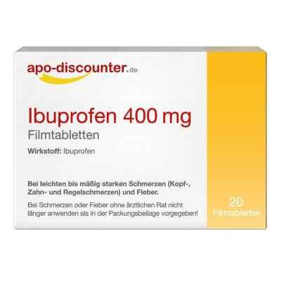 Ibuprofen 400 mg Filmtabletten  zamów na apo-discounter.pl