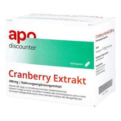 Ekstrakt z żurawiny 300 mg kapsułki  zamów na apo-discounter.pl