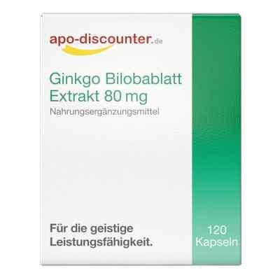 Wyciąg z liści miłorzębu japońskiego 80 mg kapsułki  zamów na apo-discounter.pl