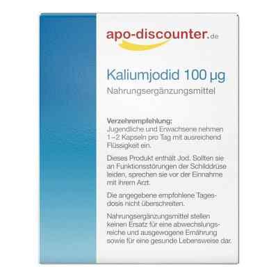 Kaliumjodid 100 [my]g kapsułki  zamów na apo-discounter.pl