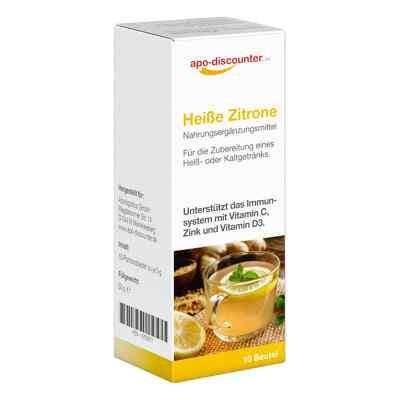 Heisse Zitrone saszetki z cytrynowym napojem  zamów na apo-discounter.pl