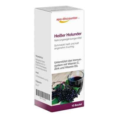 Heisser Holunder saszetki z ekstraktem z czarnego bzu  zamów na apo-discounter.pl