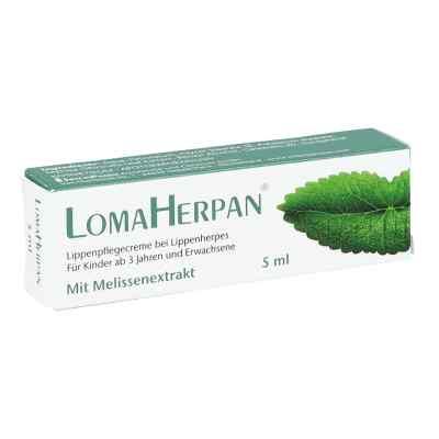 Lomaherpan Lippenpflegecreme mit Melissenextrakt  zamów na apo-discounter.pl